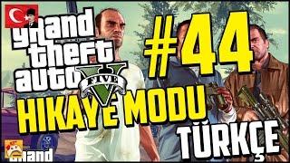 GTA 5 TÜRKÇE ALTYAZILI HİKAYE MODU PC #44 Ne Yaptın Sen Trevor?! (60FPS)
