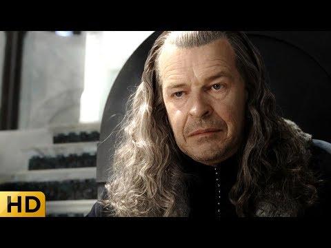 Гэндальф и Пиппин на приеме у наместника Гондора. Властелин колец: Возвращение короля.