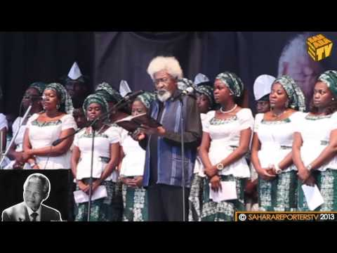 "Wole Soyinka's Tribute Poem to Mandela; ""No! He Said"""