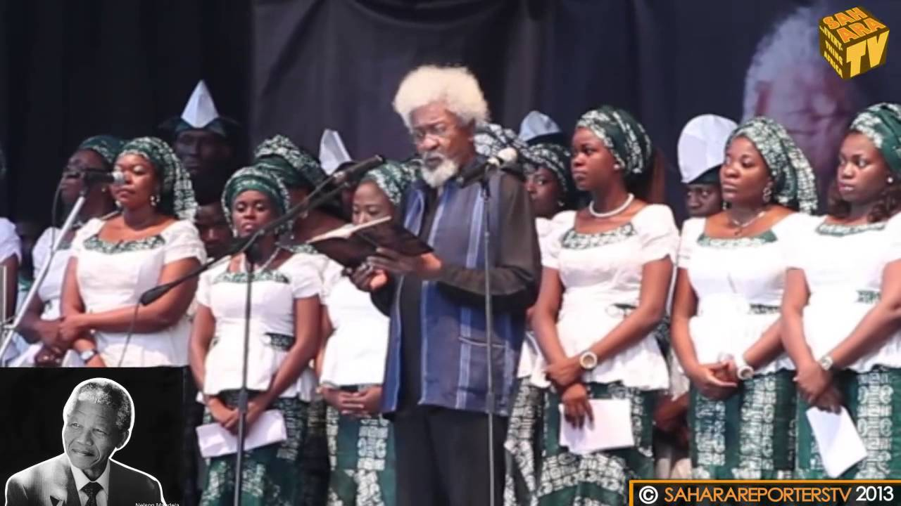 "Wole Soyinka's Tribute Poem to Mandela | ""No! He Said"""