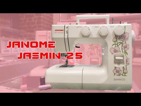 Швейная машина Janome Jasmin 25 - подробный обзор.