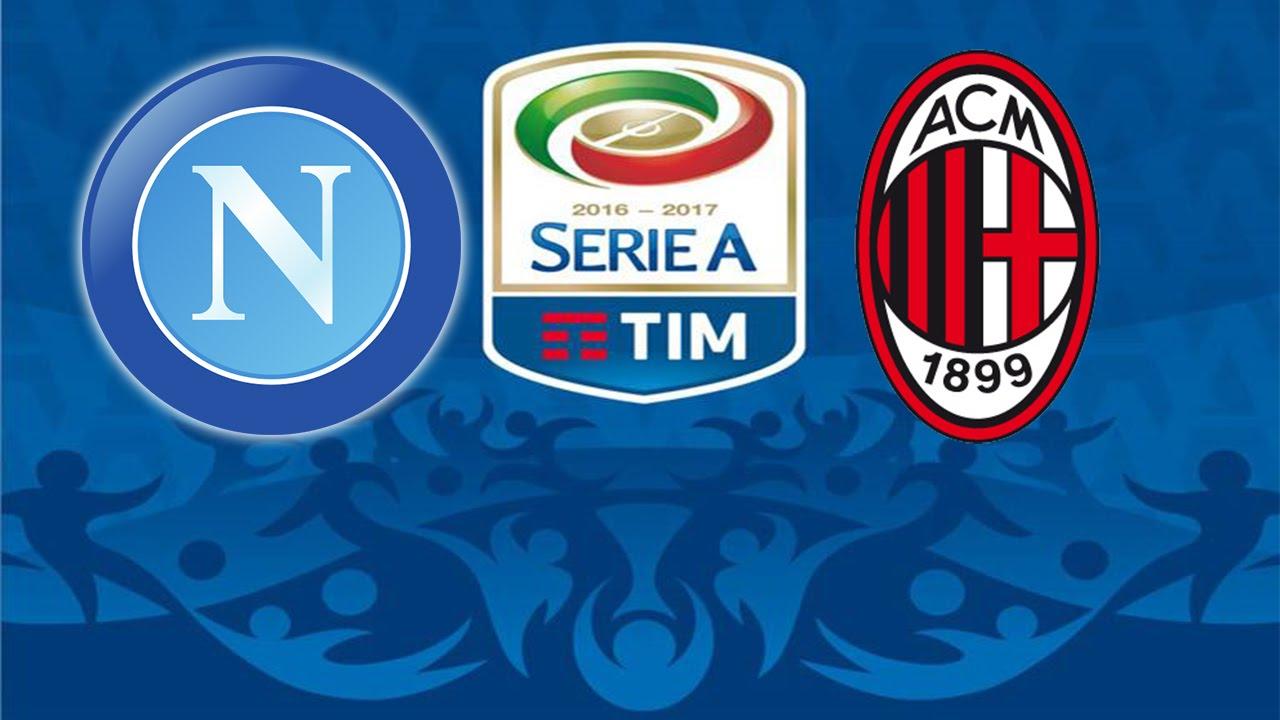 CAMPEONATO ITALIANO -16 17 -2a RODADA - NAPOLI X MILAN  FIFA16 ... 7a4dd112bc123