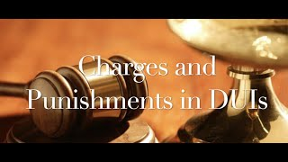 The Behan Law Group, P.L.L.C. Video - DUI Charge & punishments