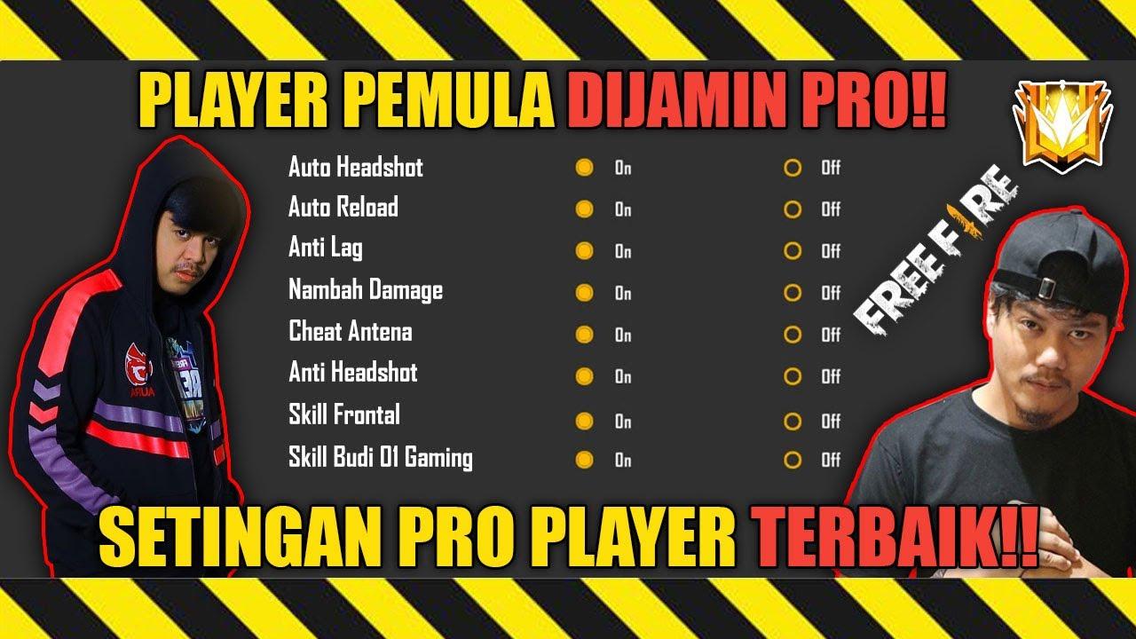 DIJAMIN PRO❗SETTINGAN TERBAIK PRO PLAYER TERBARU!! SETTINGAN FREE FIRE AUTO BOOYAH  -  FREE FIRE
