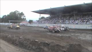 Central Montana Demolition Derby Lewistown 2012 Powder Puff