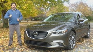 2016 Mazda6 Grand Touring with i-ELOOP Test Drive Video Review