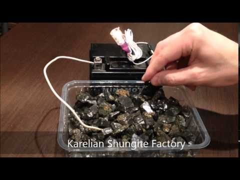 Elite shungite, check on the electrical conductivity