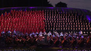 """Battle Hymn of the Republic"" w/ the Mormon Tabernacle Choir LIVE from West Point 