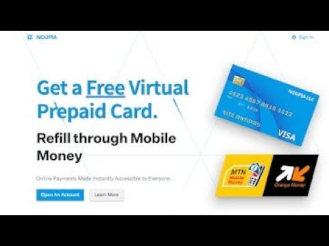 How to get a Virtual credit card for online transactions in cameroon