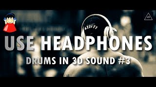 Download 3d audio experience | Drums Music in 3d Sound #3 | Lazy Boys Productions MP3 song and Music Video