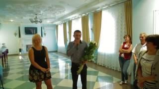 Предложение руки и сердца ведущей во время свадьбы!