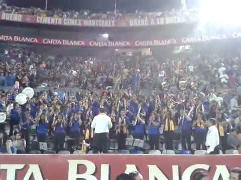 Banda Azul y Oro UANL - Party Rock  @ Estadio Universitario