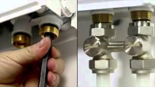 Установка радиатора с помощью оборудования Danfoss(, 2014-11-20T08:06:22.000Z)