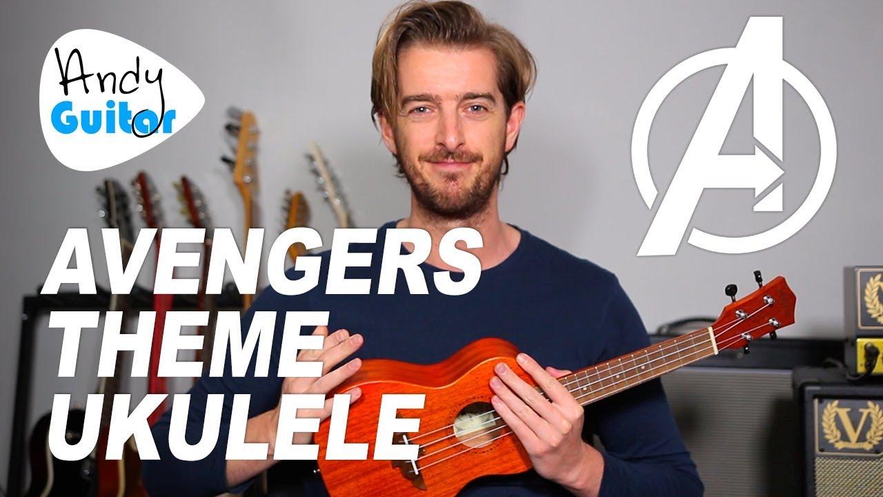 Avengers Theme Song on Ukulele + full tutorial Chords - Chordify