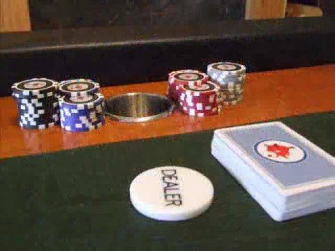 Home Built Poker Table