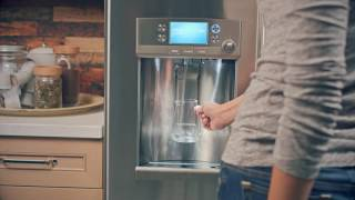 Réfrigérateurs GE avec distributeur d'eau et technologie Precise Fill CFE28TSHSS - CYE22TSHSS