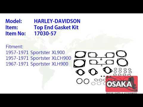OSAKA MARINE, Harley-Davidson TOP END GASKET KIT for Sportster