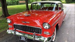 """SOLD"" Test Drive 1955 Bel Air $35,900 Maple Motors"