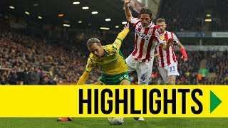 HIGHLIGHTS: Norwich City 0-1 Stoke City