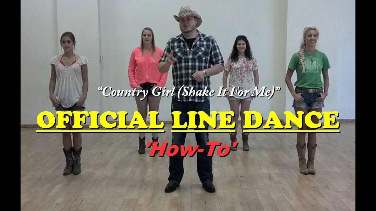Official Country Girl Line Dance -6974