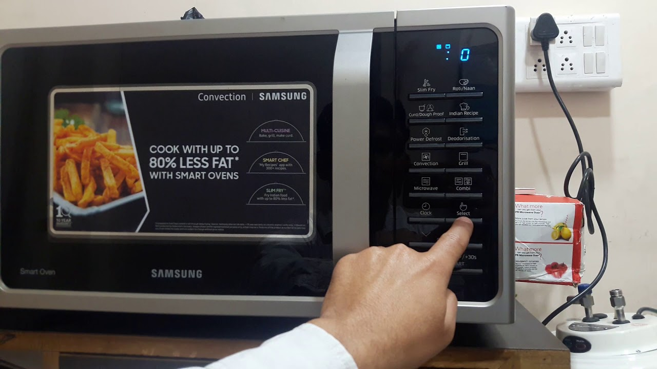 How To Use Samsung 28 L Convection Microwave Oven Full