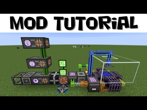 AE2 Tutorial #20 - Updated Auto-Crafting Fluix and Pure Crystals (MC 1.7.10)