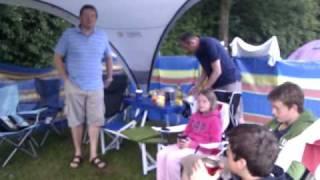 camping, wimborne 2010