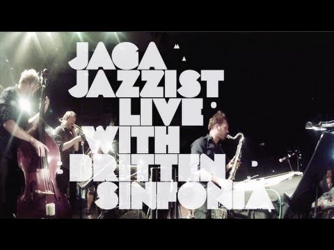 Jaga Jazzist – One Armed Bandit (Live with Britten Sinfonia)