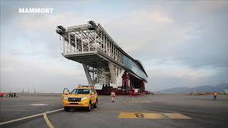 Moving The World's Longest Airside Bridge