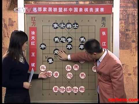xiangqi(chinese chess) 2007 CCTV5 wangbin vs zhangjiang