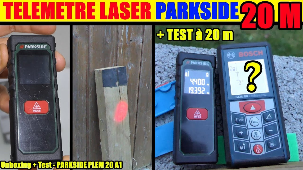 telemetre laser lidl parkside plem 20 laser distance measurer laser