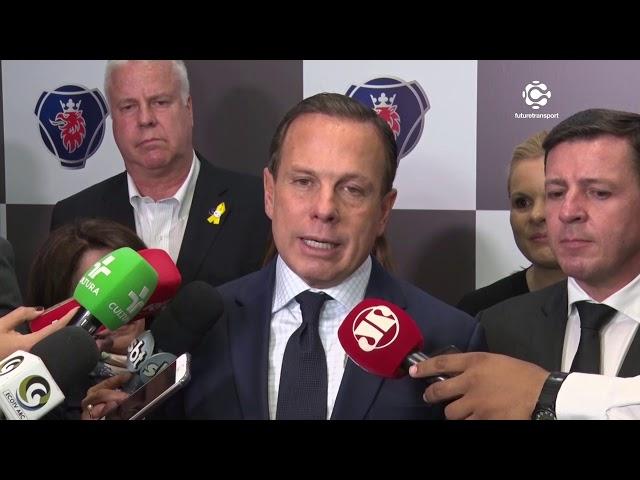 Scania anuncia investimento de R$ 1,4 bilhão no Brasil