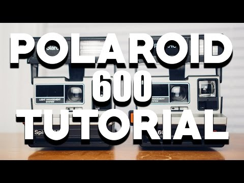 POLAROID 600 CAMERA TUTORIAL | With Impossible Project Film