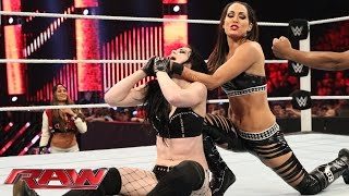 Paige vs. Brie Bella: Raw, January 12, 2015