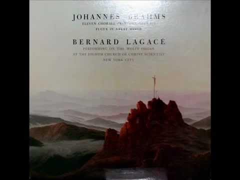 Brahms  Bernard Lagacé, 1978: Herzliebster Jesu  Op 122, No 2   Wolff Organ, NYC