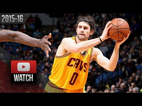Kevin Love Full Highlights at Timberwolves (2016.01.08) - 20 Pts, 9 Reb