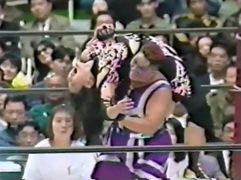Aja Kong (AJW) vs Miki Handa (LLPW)