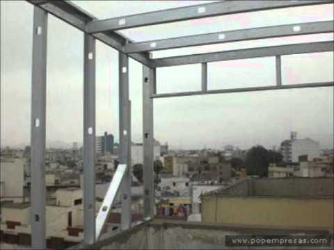 Estructuras Drywall Youtube