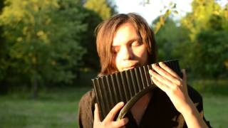 Music theme by Joe Hisaishi. 久石 譲 Cover with a pan flute (Lumier...