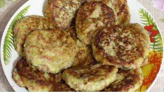 Биточки картофельные с колбасой и сыром Вкусный рецепт