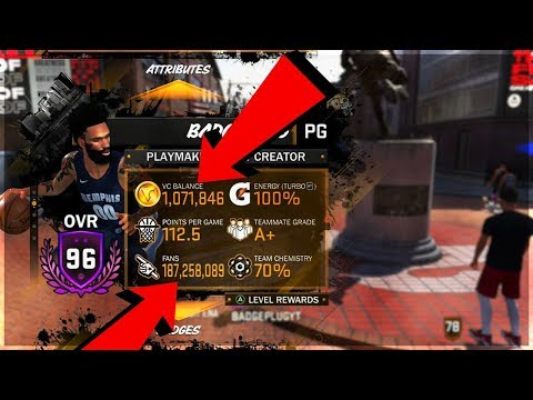 HOW I EARNED 1 MILLION VC IN NBA 2K18