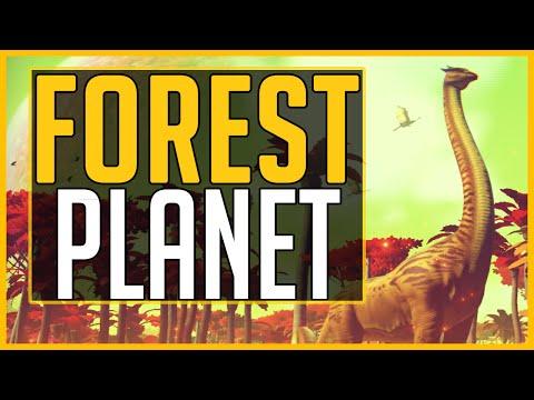 FINALLY FOUND A FOREST PLANET - No Man's Sky
