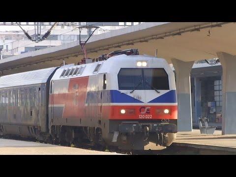 Train-Spotting at Thessaloniki new railway station (20/12/2013).
