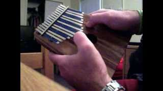Song of Storms on Kalimba (faster version)