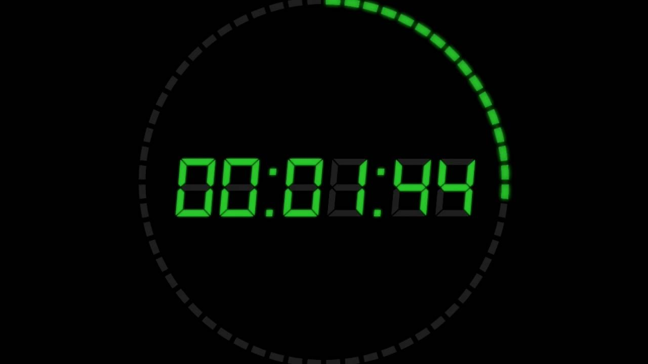 5 minute countdown timer with music