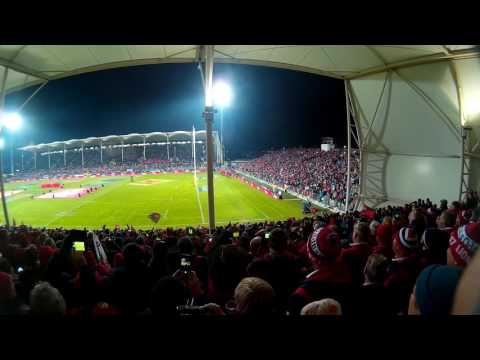 AMI Stadium, Christchurch... Crusaders