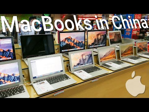 Exploring The Chinese Market For Apple MacBooks 😱😲