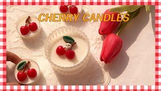 (eng)체리 캔들 만들기 Making Cherry c…