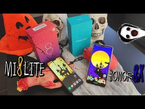Mi 8 Lite VS Honor 8x - Um vencedor claro para mim 😏