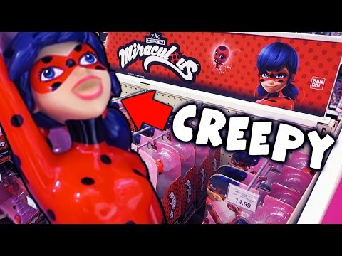 CREEPY MARINETTE! Miraculous Ladybug Toys R Us Toy Hunt! | Alice LPS